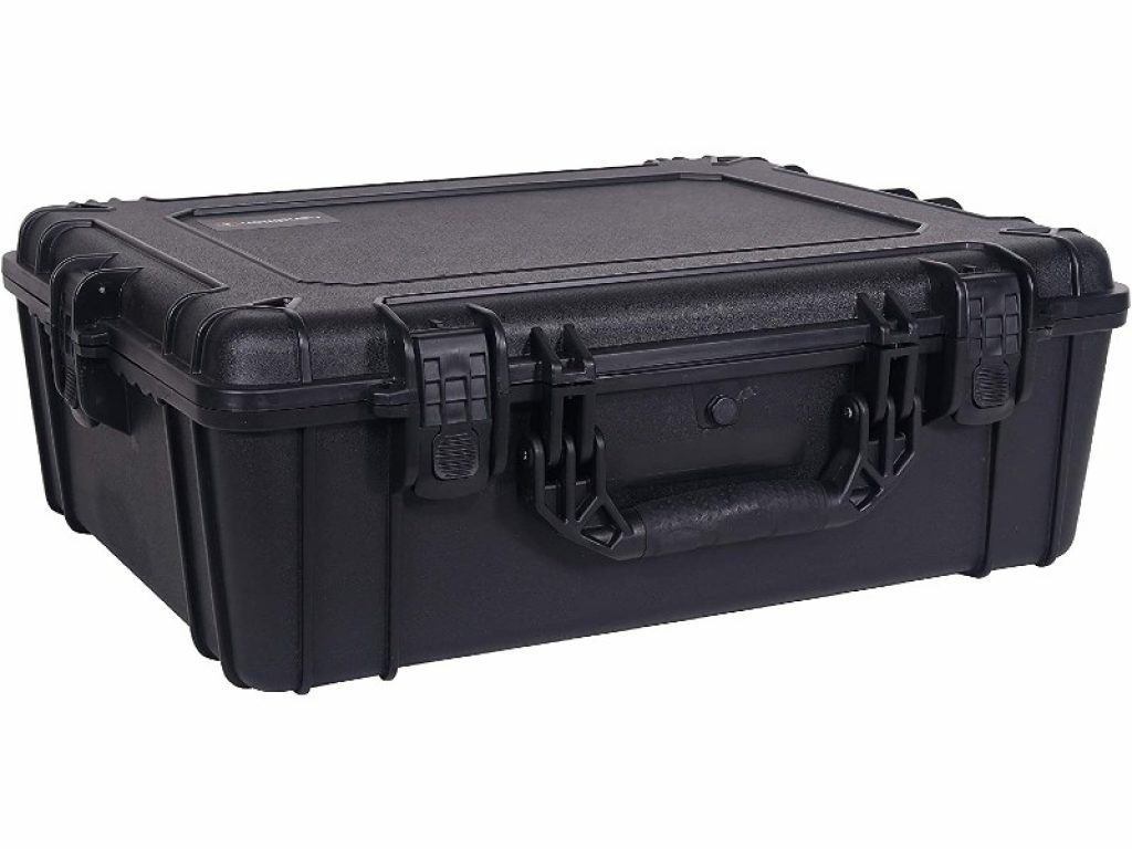 Condition 1 25-inch XL Waterproof Protective Hard Case closed