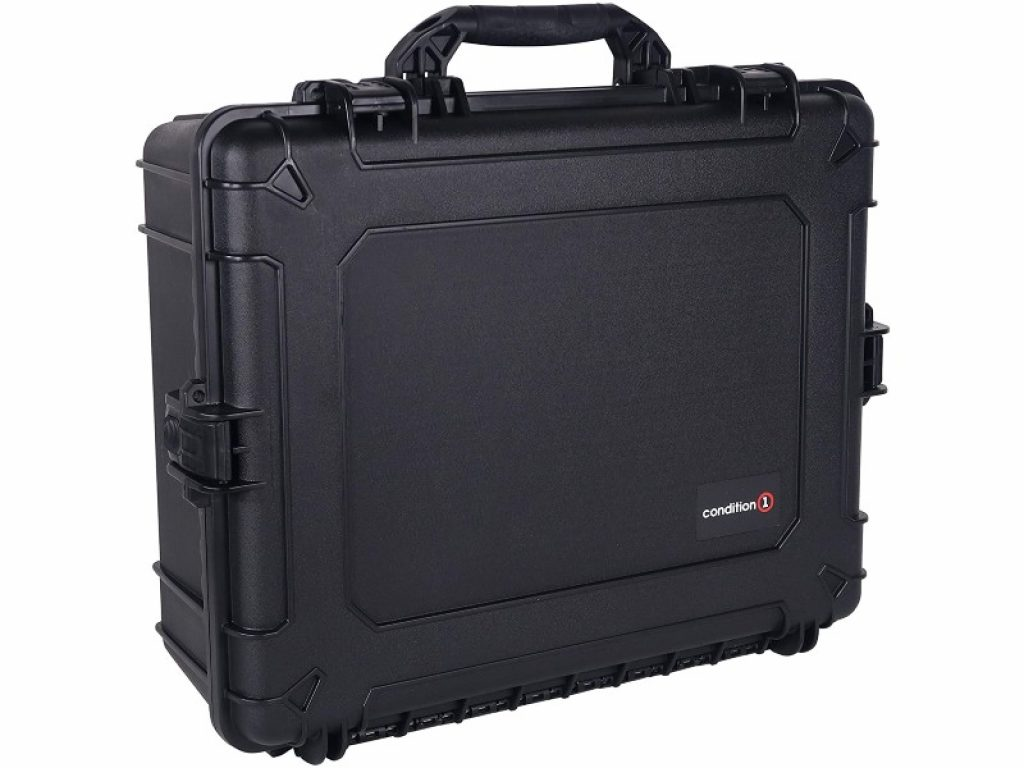Condition 1 25-inch XL Waterproof Protective Hard Case standing