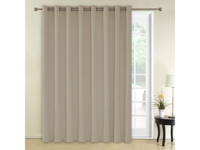 Deconovo Solid Grommet-Blackout Curtains