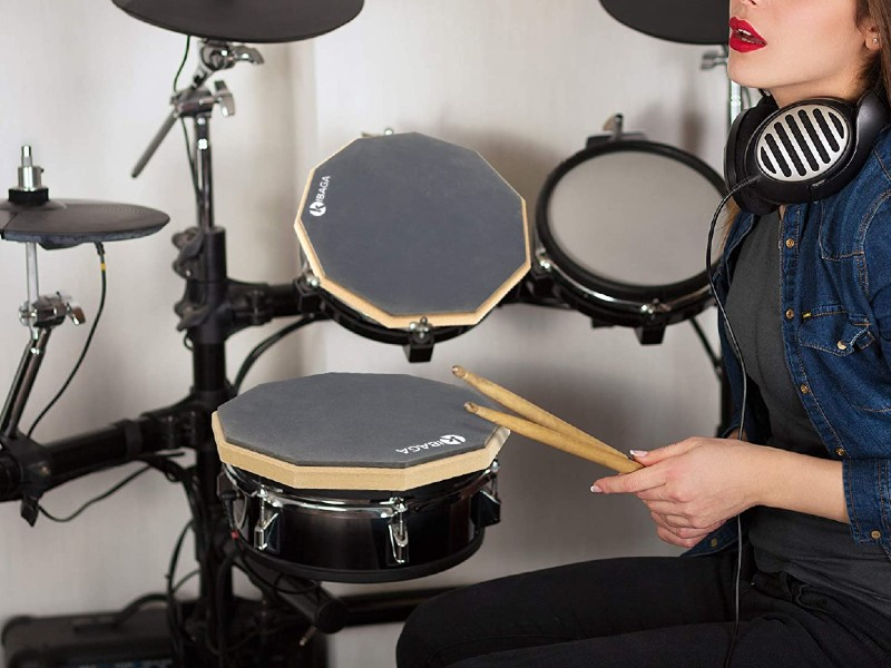 Double Sided Drum Pad 12 inches featured image