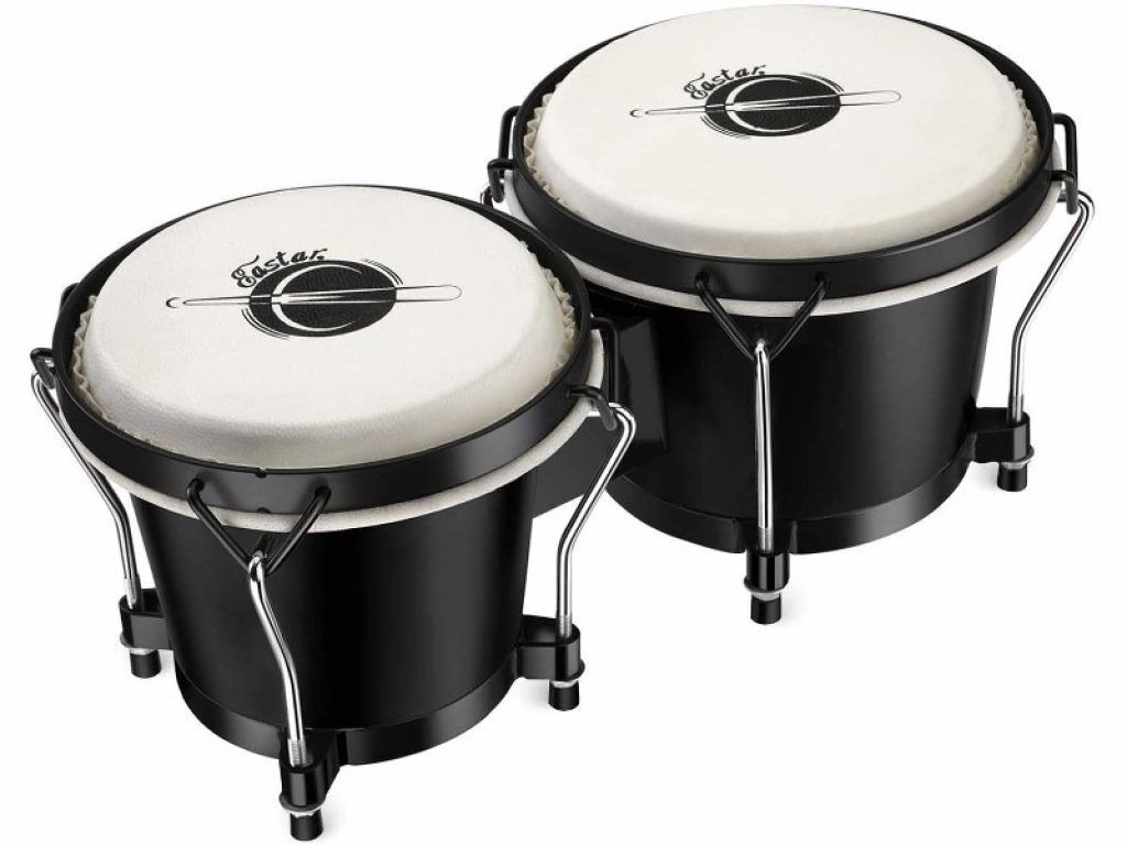 Eastar Bongo Drums 6 and 7 inch Congas Drums