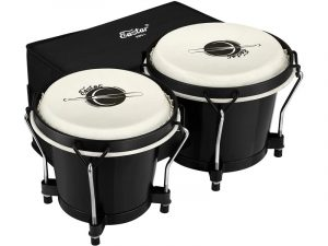 Eastar Bongo Drums 6 and 7 inch Congas Drums and bag