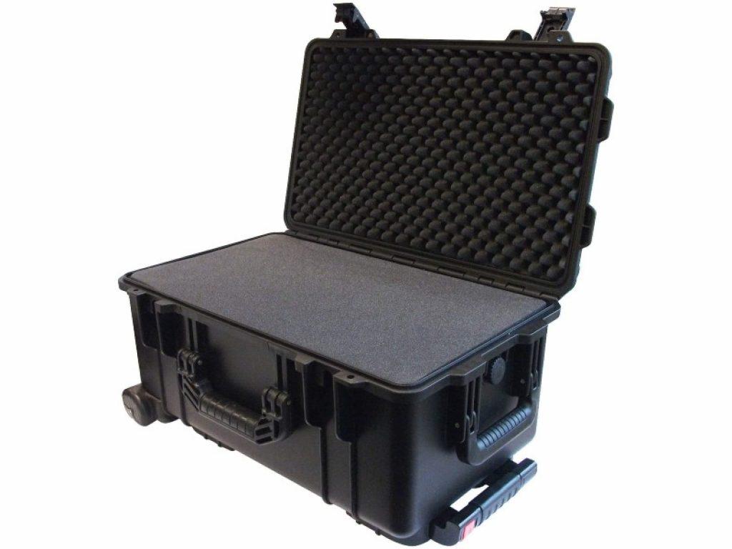 Ibex Cases 2500 Black opened
