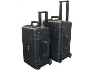 Ibex Cases 2500 Black two cases