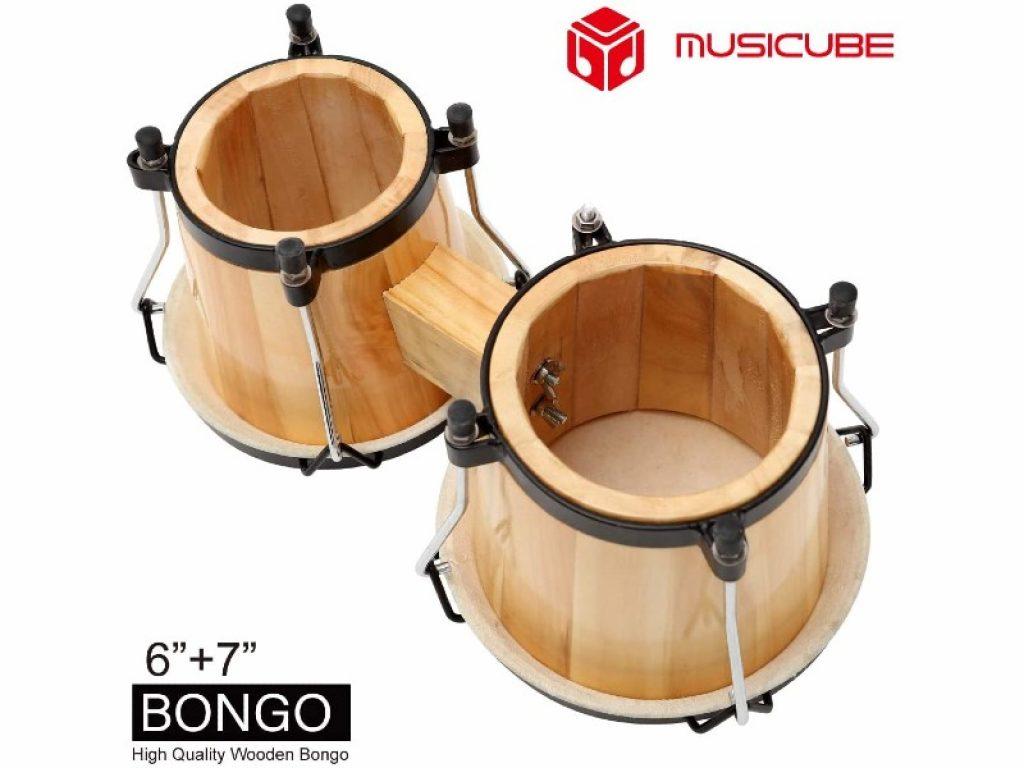 MUSICUBE Bongo Drum Set upside down