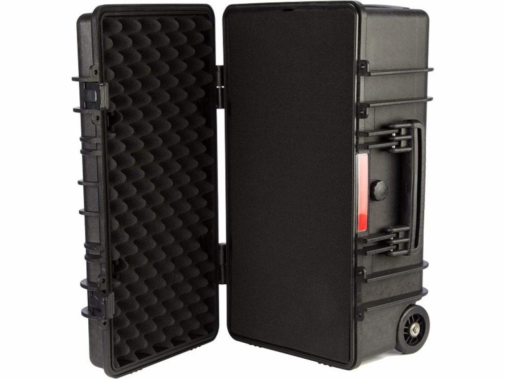 Monoprice Weatherproof Hard Case opened