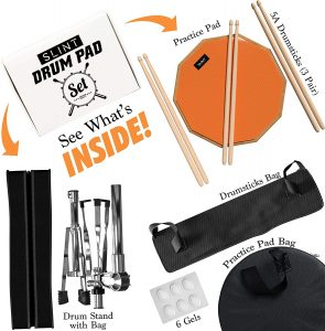 Practice Pad & Snare Stand Bundle 2