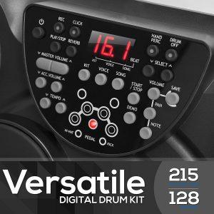 Pyle Portable Drums, Tabletop Drum Set 2