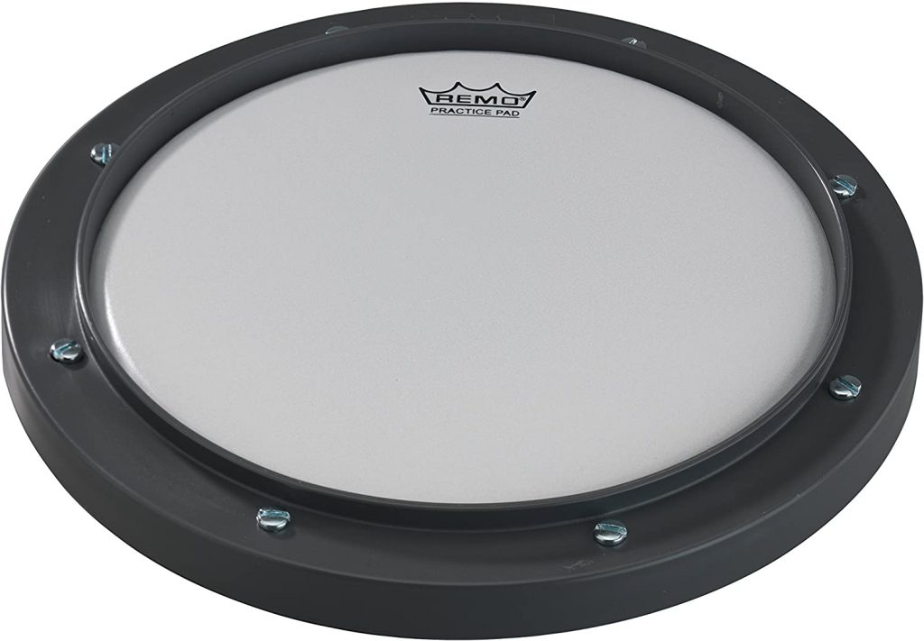 Remo RT-0008-00 8 Gray Tunable Practice Pad with Ambassador Coated Drumhead 1