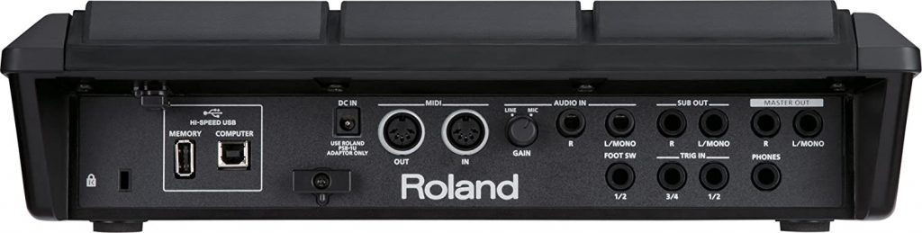 Roland SPD-SX Percussion Sampling Pad 3
