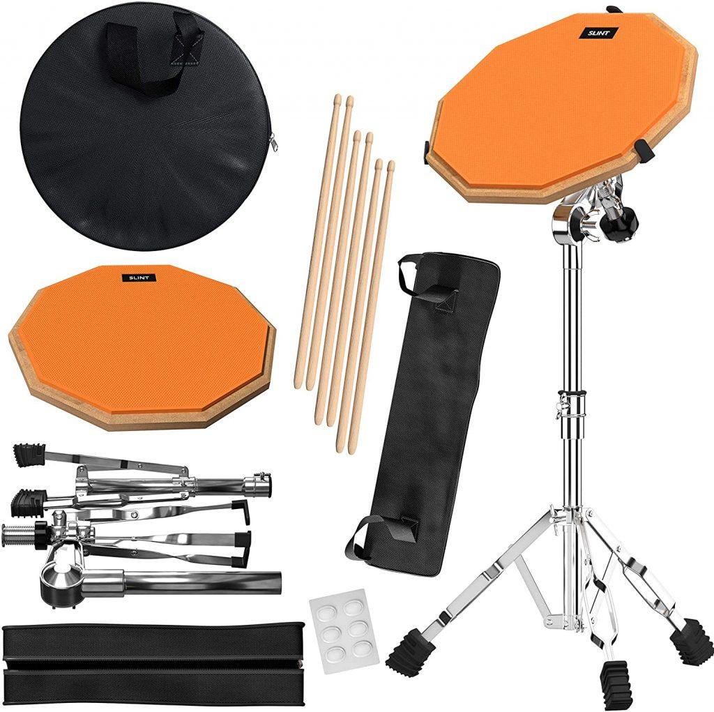 SLINT Practice Pad & Snare Stand Bundle 1