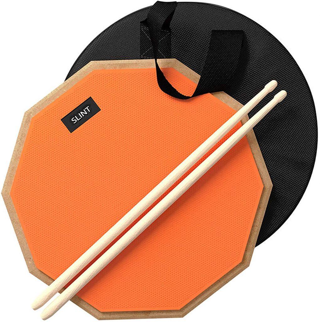 Slint Practice Pad & Drum Sticks Bundle 1