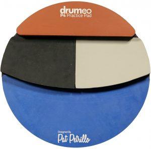 The Drumeo P4 Practice Pad 1
