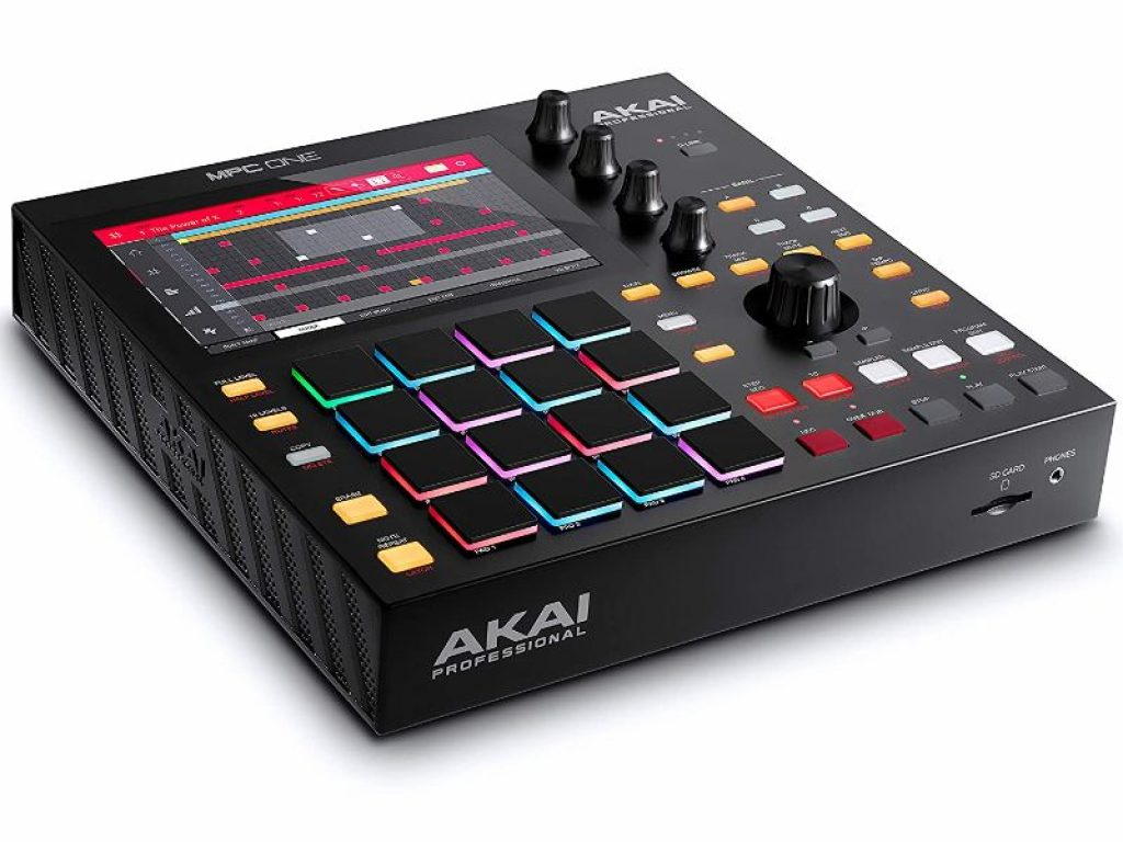 picture of akai mpc one