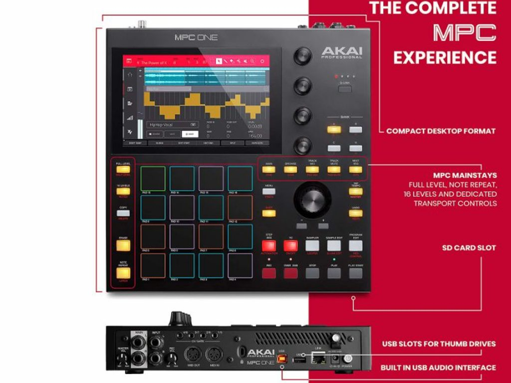 Akai MPC One specifications