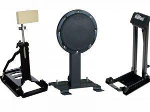 3 bass drum practice pads