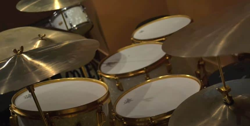gold drums