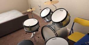 junior's drum kit