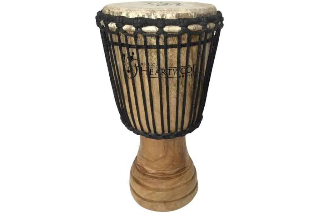 Hand-carved-African-Djembe-Drum