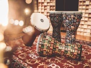 four-djembe-drums