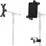 Music HM-MTH Microphone Music Stand Tablet/Smartphone Holder Mount