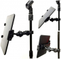 AccessoryBasics EasyAdjust cymbal Microphone Mic Stand Tablet Mount for Apple iPad