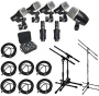 CAD Audio Stage7 Premium 7-Piece Drum Instrument Mic Pack