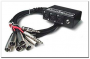 Hosa SH-6X2-30 Little Bro' Sub Snake - 6 XLR Sends, 2 1/4
